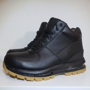 premium selection 4dd3b 6e985 Nike Air Max Goadome Black Gum ACG Leather Boots